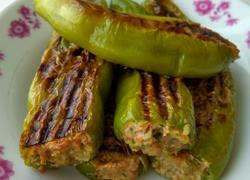 牛角椒包肉