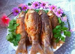 干炸五香鲫鱼