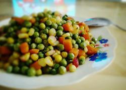 五香三色豆