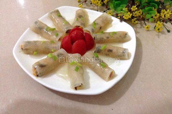 白萝卜猪肉卷