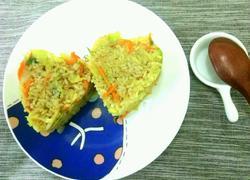 卷心菜炒米饭