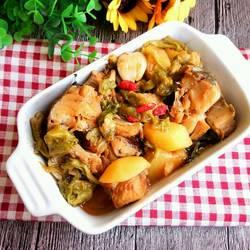 明太鱼炖土豆卷心菜的做法[图]