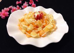 哈密瓜苹果沙拉