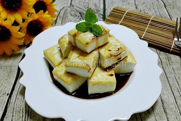 金黄嫩豆腐