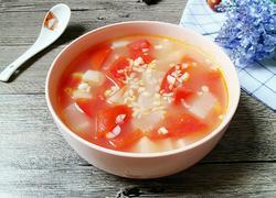 西红柿萝卜汤