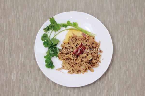 椒麻鸡丝-px同学の私房菜-独家
