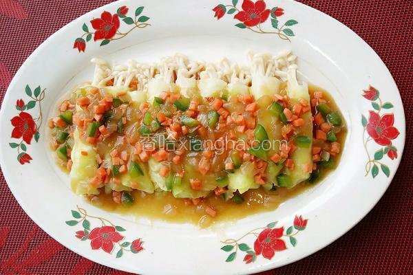 卷心菜卷金针菇