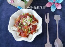 番茄酱拌麻食