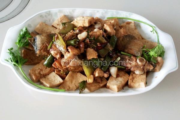 红烧鲅鱼豆腐