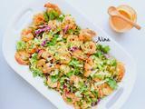 鲜虾卷心菜色拉的做法[图]