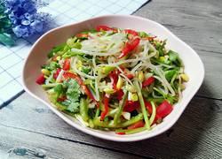 凉拌绿豆芽菜