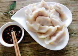 榆黄菇猪肉饺子