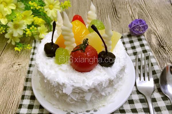 圣女果巧克力蛋糕