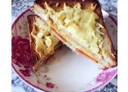马苏里拉奶酪三明治