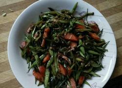 豆豉香肠炒豆角