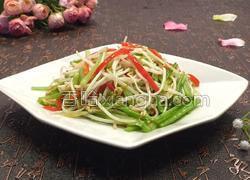 芹菜炒绿豆芽
