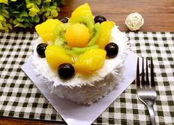 哈密瓜水果蛋糕