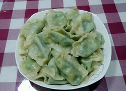韭菜鸡蛋素饺子