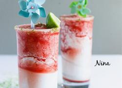 椰奶西瓜冻酸奶