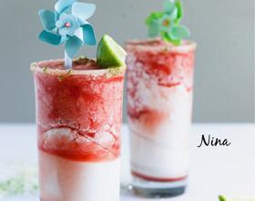 椰奶西瓜冻酸奶[图]
