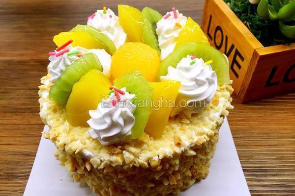 水果百汇哈密瓜蛋糕