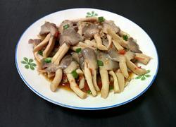 小炒秀珍菇