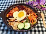 泡菜五花肉滑蛋石锅拌饭的做法[图]