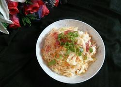 卷心菜炒粉丝