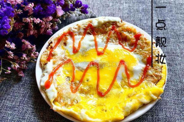 卷心菜蛋饼