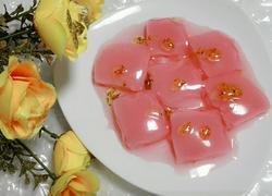 水晶桂花冻