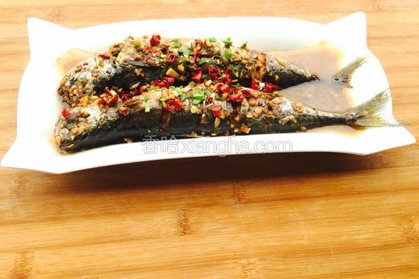 红烧秋刀鱼