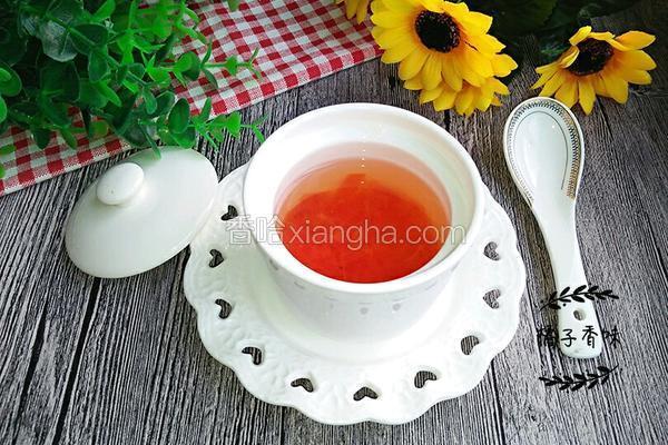 蜂蜜红柚茶