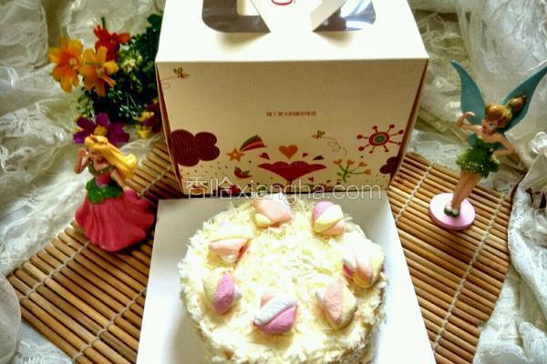 白巧克力淡奶蛋糕(4寸)