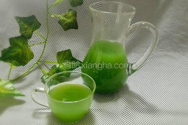 蜂蜜黄瓜雪梨汁