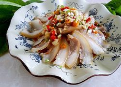 绿豆芽拌猪头肉