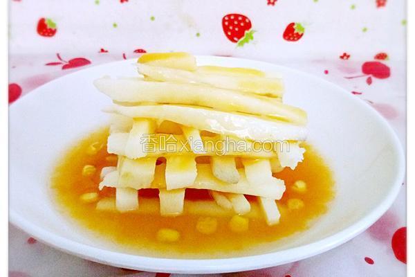 芒果味棒冰山药