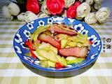 芥兰炒腊肉的做法[图]
