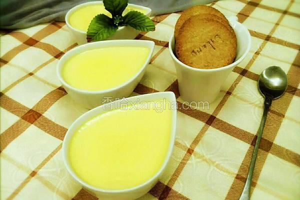 牛奶鸡蛋布丁(非烤箱版)
