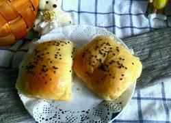 全麦芝麻面包