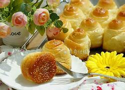 蜂蜜脆底小面包(韩国烤馍)