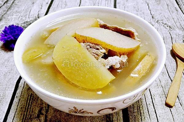 苹果蜜梨瘦肉汤