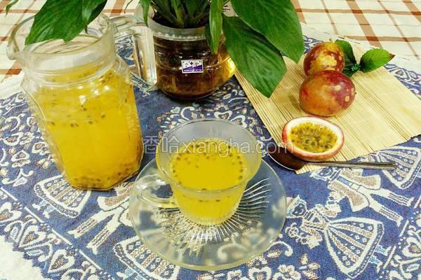 蜂蜜百香果饮