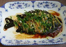 清蒸金鼓馒鱼