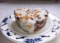 红豆沙糯米饭