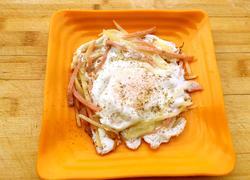 马铃薯火腿鸡蛋