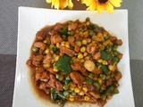 豌豆玉米配鸡丁的做法[图]