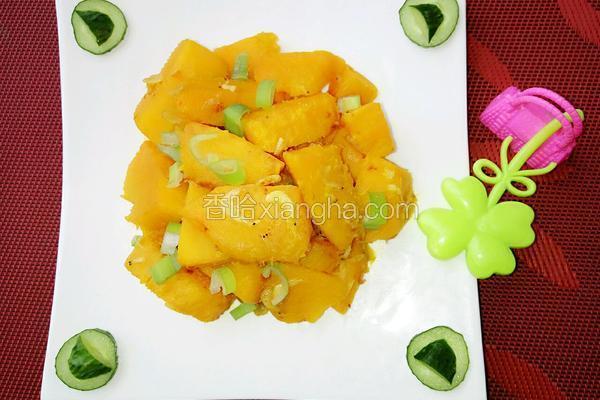 虾皮炖南瓜