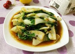 豆豉小白菜