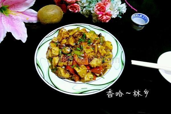 煎烧臭豆腐