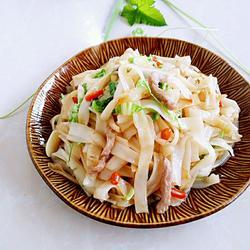 肉丝炒米粉的做法[图]